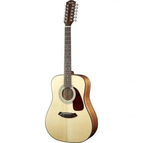 Fender CD-140S-12 Dreadnought Natural